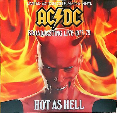 """AC/DC - Hot As Hell - Broadcasting Live 1977-79 Lp 12"""" 33 Giri New Sealed"""
