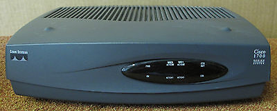 Cisco 1721 Single Port Modular Wired Fast Ethernet Network Router - CCNA CCNP