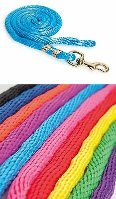 Topaz Lead Rope - Heavy Duty, Bright Colours - Choose Style!