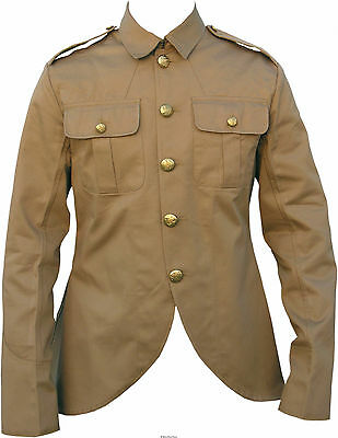 UK Khaki Drill Other Ranks Service Dress Tunic (Scottish Pattern)