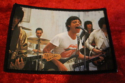 Rolling Stones - Original 1979 Sew On Photo Patch. Never Used. Rare!