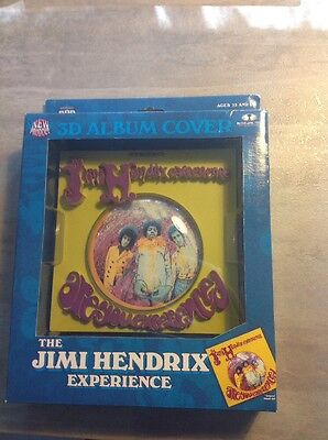 JH12940 Jimi Hendrix Album Cover 3D Display Plaque - Are You Experienced