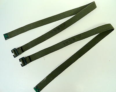 British Canvas Utility Straps Set Of 2