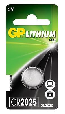4x GP 2025 3V Lithium Coin Cell Batteries CR2025 DL2025 Battery - New