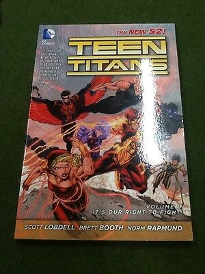 teen titans vol 1: its our right to fight DC new 52 trade paperback