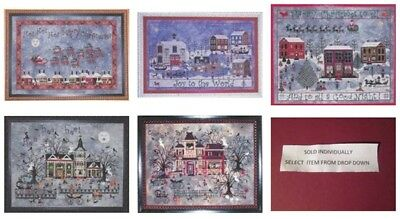Praiseworthy Stitches Cross Stitch CHART- Christmas/Halloween-Your Choice