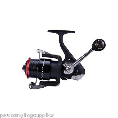 Shakespeare Agility Match  Spin Spinning  Fishing Reel 40 Front  Drag