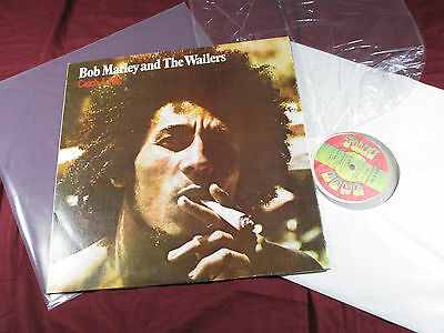 Bob Marley and The Wailers CATCH A FIRE - LP Tuff Gong Jamaica clear smoke vinyl
