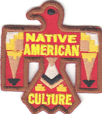 """native American Culture"" Thunderbird -Iron On Embroidered Patch - Southwest"