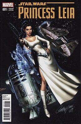 Princess Leia #1 (Of 5) Campbell Connecting Variant Star Wars Marvel