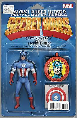 Secret Wars #4 Captain America Christopher Action Figure Variant