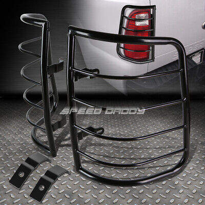 For 09-16 Ram Pick-Up Black Stainless Steel Tail/brake Light/lamp Cage Guard