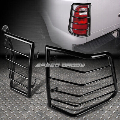 For 05-10 Jeep Cherokee Black Stainless Steel Tail/brake Light/lamp Cage Guard
