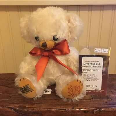 "10"" Limited Edition Merrythought Frosted Maple Cheeky (Mohair) - Tags Attached"