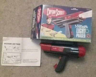 Captain Scarlet & The Mysterons - Ray Gun / Light Phaser boxed with manual