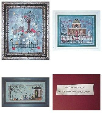 Praiseworthy Stitches Smaller Cross Stitch Chart Halloween/Christmas-Your Choice