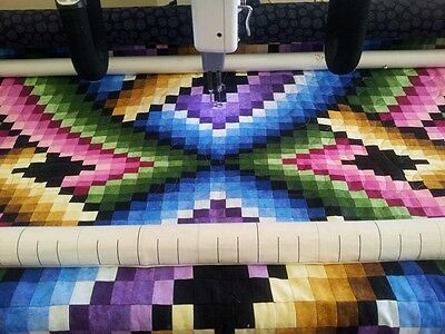"""Quilting Service - Computerised Long Arm Quilting, Single Bed Sized 60"""" x 80"""""""