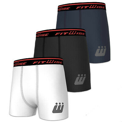Fitwise Men's Boxer Shorts Breathable Compression Trunk Lycra Pants Inner wear