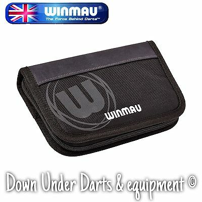 Winmau Urban Pro Darts and Accessory Case / Wallet - Black - Holds 2 Sets