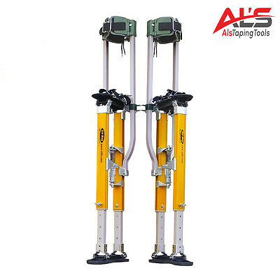 "Sur-Pro Sur-Mag S2 Dual Pole Magnesium Drywall Stilts 18-30"" - Medium- NEW!"