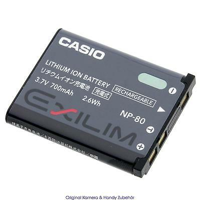 Casio Akku NP80 Li-ion Battery