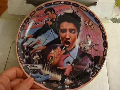Elvis, Limited Edition Collector Plate, by Bradford Exchange, USA Item No: 12891