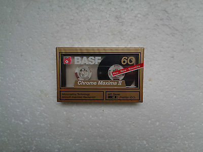 Vintage Audio Cassette BASF Chrome Maxima 60 * Rare From Germany 1989 *