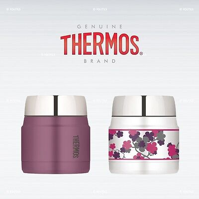 Thermos Fashion Series Food Flask Vacuum Insulation Stainless Steel 290ml