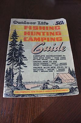 Outdoor Life Fishing Hunting Camping Guide 1947