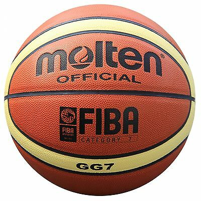 MOLTEN GG7 basketball Ball  high quality PU basketball Szie 7 Sport equipment
