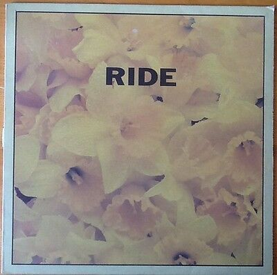 """RIDE Play 1990 4 Track 12"""" Vinyl EP Creation CRE075T A3/B2 Textured Sleeve VGC"""