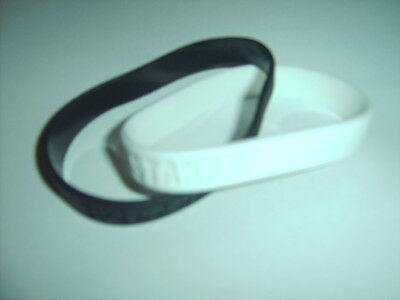 Anti Racism Wristbands Stand Up Speak Up Black & White Bands Black Lives Matter