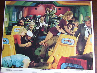 """The Big Bus"". Spoof disaster movie & cult classic. 7 x lobby cards."