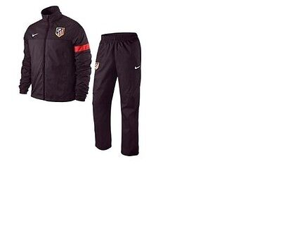 Atletico Madrid Woven Full Zip Football Tracksuit  Bottoms Jogging Mens XL