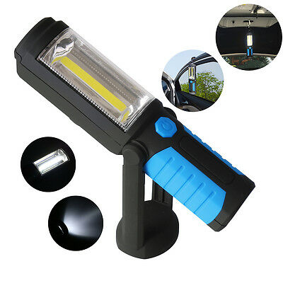 W/Hook COB LED Flash Light Camping Workshop Rechargeable Magnetic Pocket