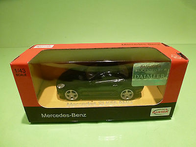 Rastar 7154 Mercedes Benz Slk55 Amg - Dark Blue 1:43 - Near Mint In Box