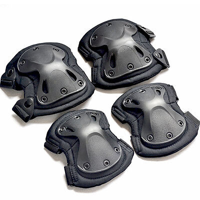4 Knee Elbow Support Pad Sport Protective Equipment Gear Skate Protection Cast
