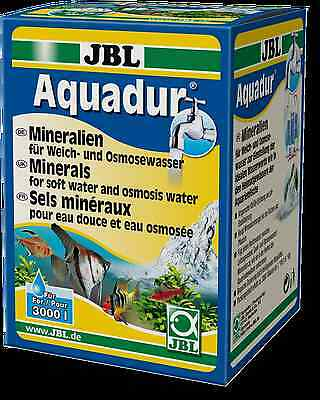 JBL Aquadur 250g (mineral salts plus RO soft water livebearing fish breeding)