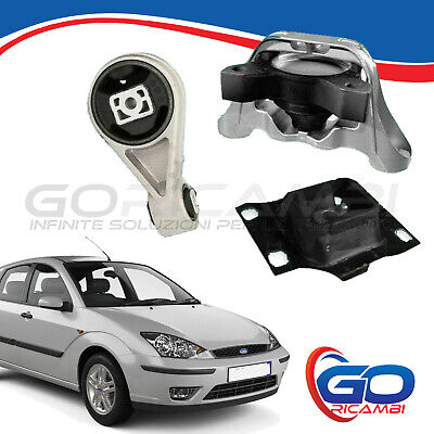 KIT 3 SUPPORTI MOTORE ANT + POST FORD FOCUS 1.4 - 1.6 -1.8 - 2.0 - 1.8 TD TDCi