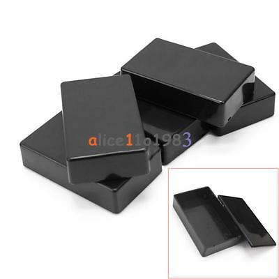 5PCS Plastic Electronic Project Box Enclosure Instrument Case 100x60x25mm UK