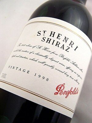 1998 PENFOLDS St Henri Shiraz Isle of Wine