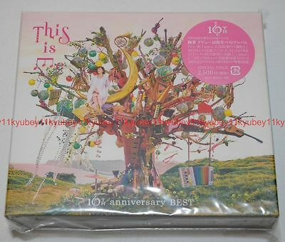 New Ayaka THIS IS ME Ayaka 10th anniversary BEST Limited Edition 3 CD DVD Japan