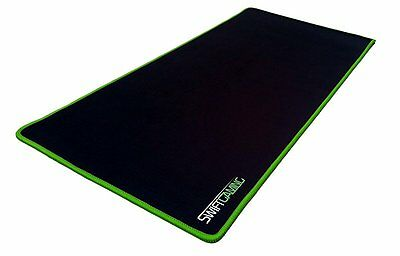 SwiftGaming© Large gaming mouse pad mat for PC - wide - Anti-slip - Cloth finis