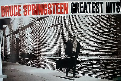Rare Bruce Springsteen Greatest Hits 1995 Vintage Orig Music Promo Poster