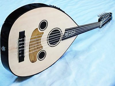 Sava ::  Turkish  Quality Half Cut Electro Acoustic  Oud Ud  New !!!!!!!!!!