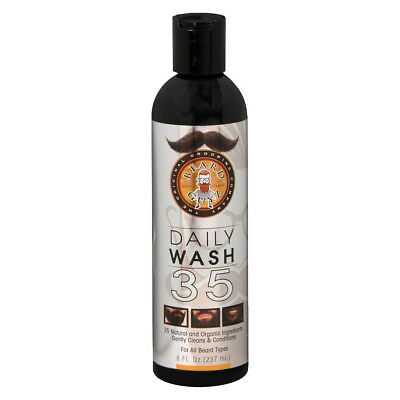 Beard Guyz Original Grooming Daily Wash 35 For All Beard Types 8 Oz / 237ml