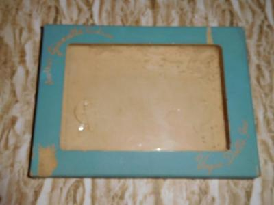 Vintage Vogue Empty Ginnette outfit box with window celophane