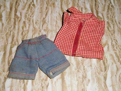 Vintage TAGGED VOGUE Dolls - Farm Girl Outfit