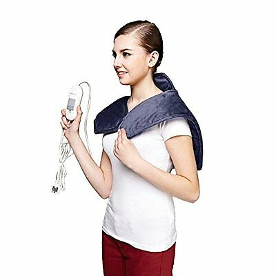 Neck Shoulder Heating Pad Pain Tension Relief Electric Washable 3 Heat Settings