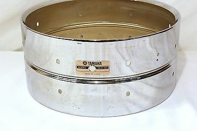 "Yamaha SD256 Steel Snare Drum Shell, 14""x6.5"""